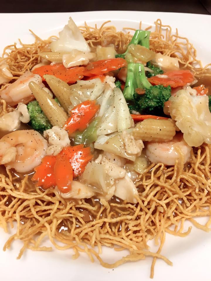Crispy Noodle Lad Na